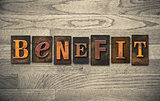 Benefit Wooden Letterpress Theme