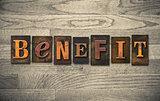 Benefit Wooden Letterpress Theme