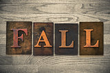 Fall Wooden Letterpress Theme