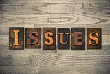 Issues Wooden Letterpress Theme