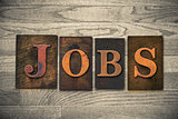 Jobs Wooden Letterpress Theme
