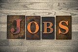 Jobs Wooden Letterpress Theme