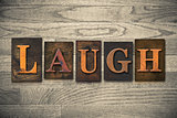 Laugh Wooden Letterpress Theme
