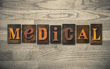Medical Wooden Letterpress Theme