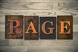 Rage Wooden Letterpress Theme
