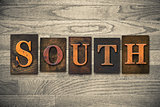South Wooden Letterpress Theme