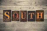 South Wooden Letterpress Theme