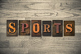 Sports Wooden Letterpress Theme