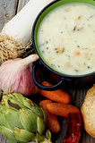 Artichoke Creamy Soup