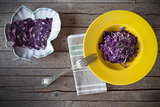 Risotto With Red Cabbage