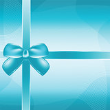Cover of the present box blue background.