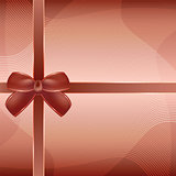 Cover of the present box brown background.