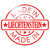 Made in Liechtenstein red seal