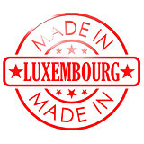 Made in Luxembourg red seal