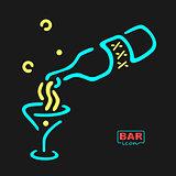 Neon Bar Symbol