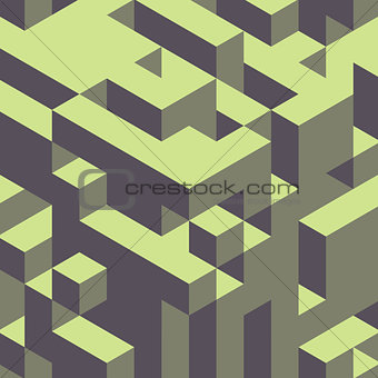 Abstract geometrical 3d colorful background.