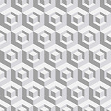 Abstract geometrical 3d white background.  Vector illustration.