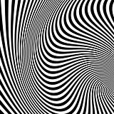 Pattern with optical illusion.