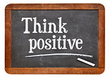 Think positive on blackboard