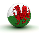 Welsh Golf Ball