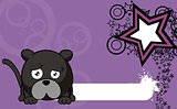 panther ball cartoon background6