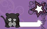 panther ball cartoon background6