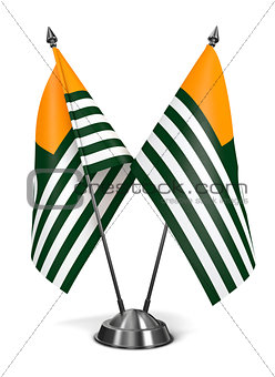 Azad Kashmir - Miniature Flags.