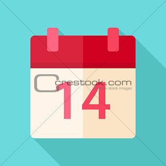 Calendar valentine day