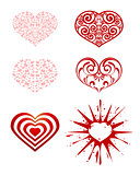 Series of hearts