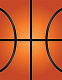 Basketball Texture Background Illustration