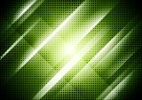 Dark green abstract shiny background