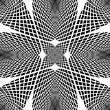 Design monochrome grid geometric background