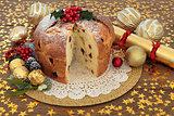 Panetone Christmas Cake