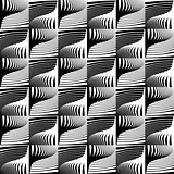 Design seamless striped decorative pattern