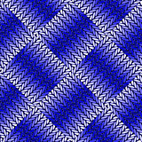 Design seamless blue knitted pattern