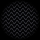 Wavy line background