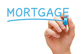 Mortgage Blue Marker