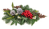 Winter Floral Display