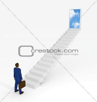 Businessman  Destination