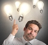 Ideas of businessman