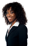 Closeup portrait of african businesswoman
