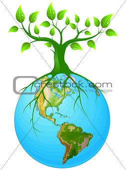 Clear earth