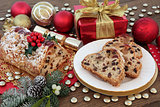 Christmas Stollen Cake