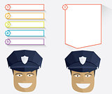 Policeman and message boards