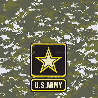 Green army camouflage background