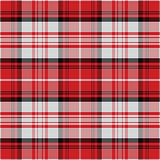 vector seamless red pattern Scottish tartan