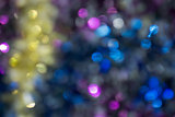Blurred Tinsel