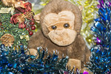 Monkey Toy with Decorations