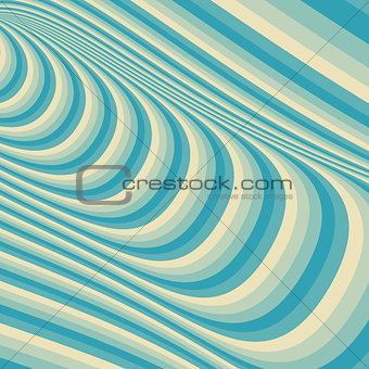 Abstract 3d geometrical background. Pattern with optical illusion