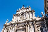 Catania Cathedral Facade, Catania, Sicily, ITALY